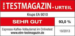 Krups_EA_9010_Test_ETM_Testergebnis