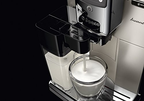 Saeco-HD891701-Incanto-Kaffeevollautomat-AquaClean-integrierte-Milchkaraffe-silber-0-9
