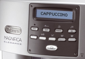 kaffeevollautomat DeLonghi One Touch ESAM 3600 Display und Bedienung