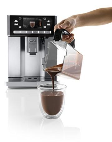 DeLonghi PrimaDonna ESAM 6900 Heisse Schokolade